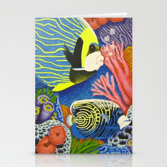Angel Fish Stationery Cards