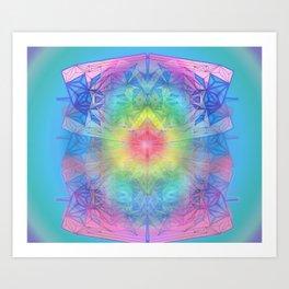DESTINY'S LOVE Art Print