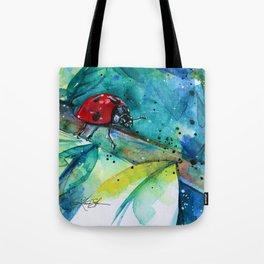 Ladybug - by Kathy Morton Stanion Tote Bag