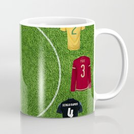 Football soccer best players clock Coffee Mug