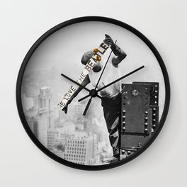 We Love John, Paul, Ringo and George Wall Clock