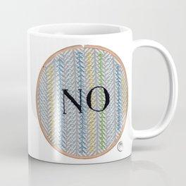 No (Fishbone) Coffee Mug