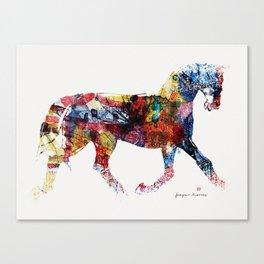 Horse (Freedom of skin) Canvas Print