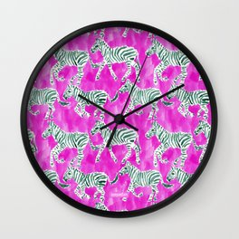 ZEBRA PLAY Wall Clock
