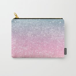 Unicorn Princess Glitter #5 (Faux Glitter - Photography) #pastel #decor #art #society6 Carry-All Pouch