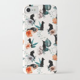 Black Cats for Luck iPhone Case