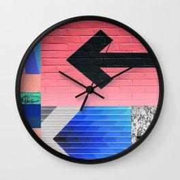 arrow me this way Wall Clock