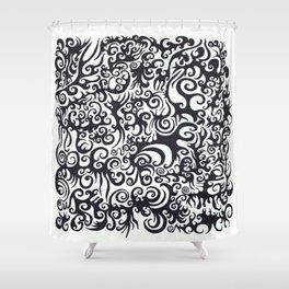 nt014 Shower Curtain