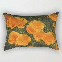 California Poppies 007 Rectangular Pillow