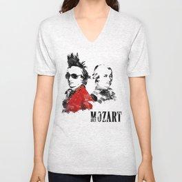 Mozart Punk Unisex V-Neck