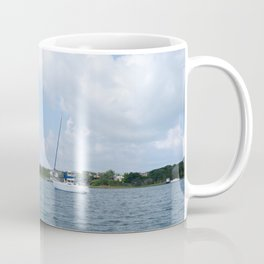 Ocracoke Island Silver Lake Coffee Mug