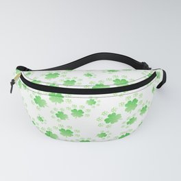 Pattern clover, lucky charm, New Year, St. Patrick's Day Fanny Pack