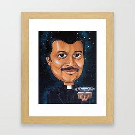 Preaching Science Framed Art Print