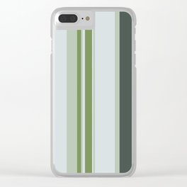 Untitled 2018, No. 8 (Forest Palette III) Clear iPhone Case