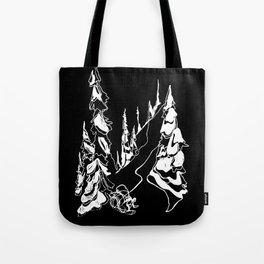 Back Alley :: Single Line Tote Bag