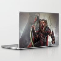 the lion king Laptop & iPad Skins featuring Lion King by Alexandrescu Paul