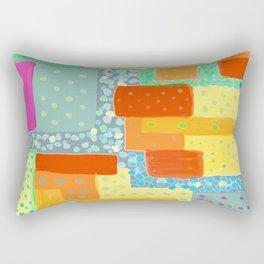 Amazing Dots and Colors Rectangular Pillow