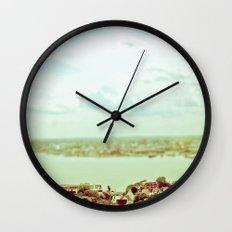D'en Haut Wall Clock