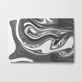 FATE - BLACK Metal Print