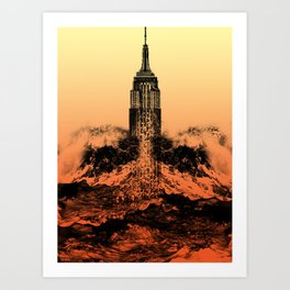 End of an Empire Art Print