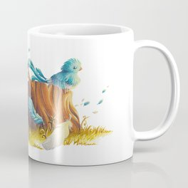 Bird in the wind Coffee Mug