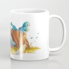 Bird in the wind Coffee Mug