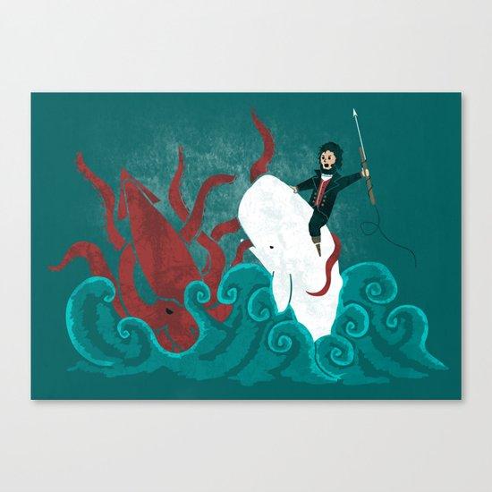 Dangerous Waters Canvas Print