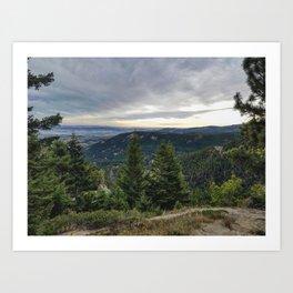 Trailview Art Print