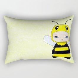 A Boy - Bee Rectangular Pillow