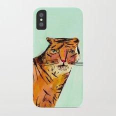 Tiger iPhone X Slim Case