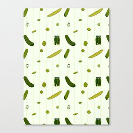 Pickles Canvas Print