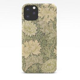 Chrysanthemum by William Morris 1877 Antique Vintage Pattern CC0 Spring Summer iPhone Case