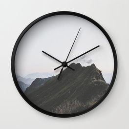 path - Landscape Photography Wall Clock