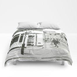 Walking in Kensington Comforters