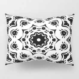 """Horse Heads Kaleidoscope"" Pillow Sham"