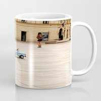 toddler Mugs featuring Toddler Car In Monaco by ExperienceTheFrenchRiviera