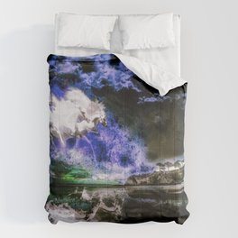 Erupting Commotion Comforters