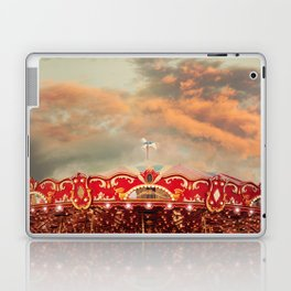 Wonderful Whirled Carousel Laptop & iPad Skin