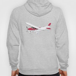 Cessna Flying Through Clouds Hoody