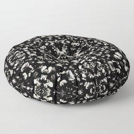 fawn pastel brown tint glass and stone chip mosaic motif tile pattern boho mandala Floor Pillow