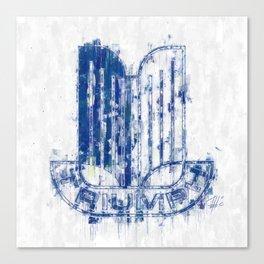 Triumph Logo Canvas Print