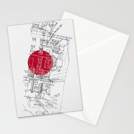 Alfred Hitchcock fan.. Stationery Cards