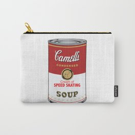 Camell's Soup CREAM OF SPEED SKATING Pop Art Carry-All Pouch