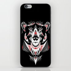 American Indian bear iPhone & iPod Skin