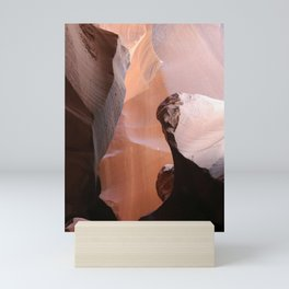 Natures Marvelous Composition - Antelope Canyon Shapes Mini Art Print