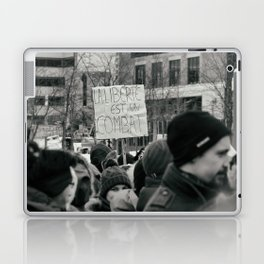 Freedom is a fight Laptop & iPad Skin