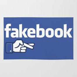 Fakebook Rug