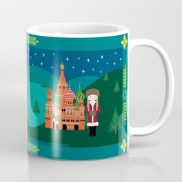 Kids Around the World - Russian child in Moscow Coffee Mug