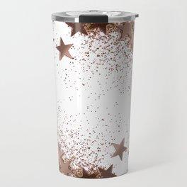 SHAKY STARS ROSEGOLD Travel Mug