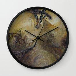 Gazelle Wall Clock